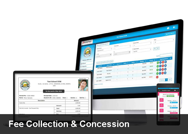 Fee Collection & Concession